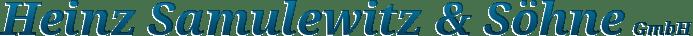 Heinz Samulewitz & Söhne GmbH - Logo